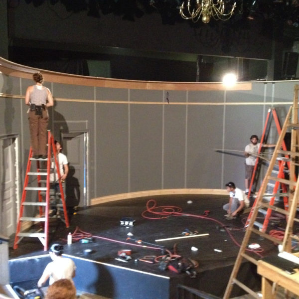 Load-in (photo credit: Tom Minucci)