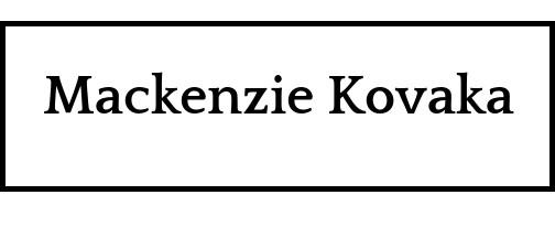 Mackenzie Kovaka